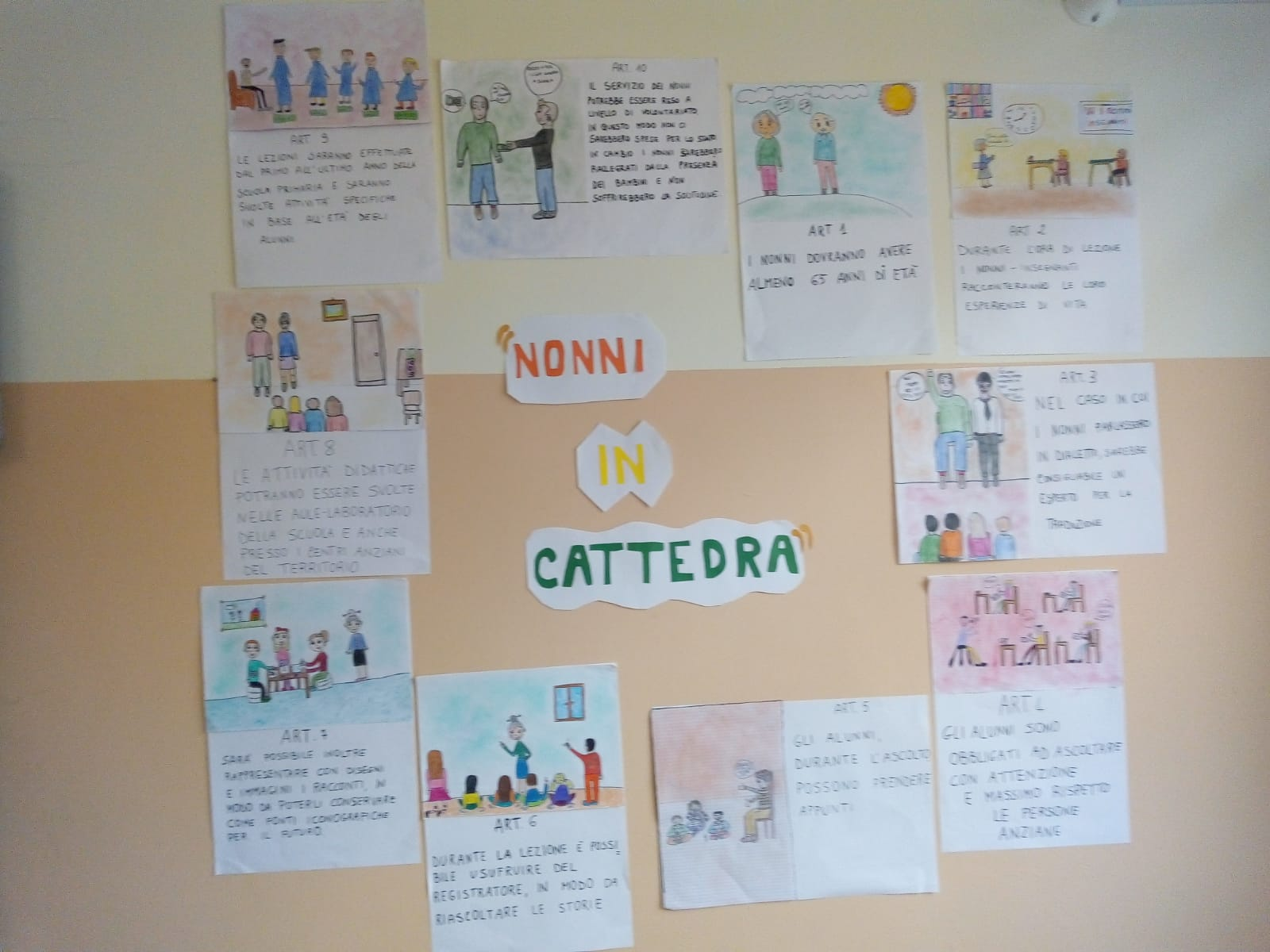 Nonni in cattedra